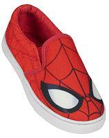 Disney Brand Chlapčenské nazúvacie tenisky Spiderman - červené, EUR 33