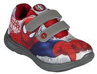 Disney Brand Chlapčenské tenisky Spiderman - šedo-červené, EUR 28