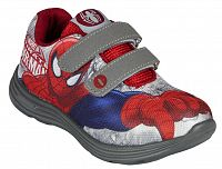 Disney Brand Chlapčenské tenisky Spiderman - šedo-červené, EUR 34