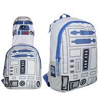 Disney Brand Chlapčenský batoh s maskou Star Wars - červený