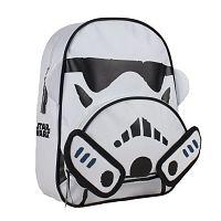 Disney Brand Chlapčenský batoh Star Wars - bielo-čierny
