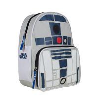 Disney Brand Chlapčenský batoh Star Wars - šedo-modrý