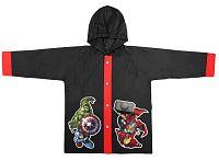 Disney Brand Chlapčenský kabátik do dažďa Avengers - čierny, 116 cm