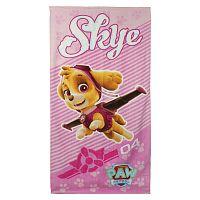 Disney Brand Dievčenská plážová osuška Paw Patrol - ružová