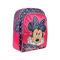 Disney Brand Dievčenský batôžtek Minnie - modro-ružový