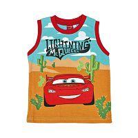 Disney Chlapčenské tielko Cars - modro červené, 92 cm