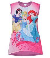 Disney Dievčenská nočná košieľka Princezné - ružová, 92 cm