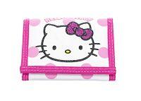 Disney Dievčenské peňaženka Hello Kitty, bielo - ružová