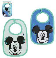Disney Súprava podbradníkov Mickey Mouse - modrý a biely