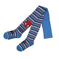 E plus M Chlapčenské pančucháče Spiderman - modré, 104-110 cm