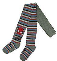 E plus M Chlapčenské pančucháče Spiderman - sivé, 92-98 cm