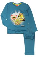 E plus M Chlapčenské pyžamo Angry Birds - modré