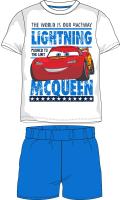 E plus M Chlapčenské pyžamo Cars - svetlo modré, 122 cm