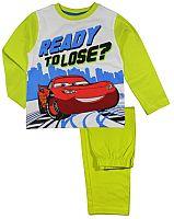 E plus M Chlapčenské pyžamo Cars - zelené, 128 cm