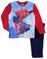 E plus M Chlapčenské pyžamo Spiderman - červeno-modré, 122 cm