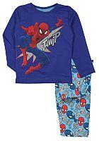 E plus M Chlapčenské pyžamo Spiderman - modré, 104 cm