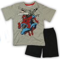 E plus M Chlapčenské pyžamo Spiderman - sivé