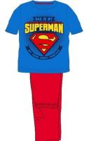 E plus M Chlapčenské pyžamo Superman - modro-červené, 110 cm