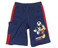 E plus M Chlapčenské šortky Mickey Mouse - tmavo modré, 92-98 cm