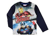 E plus M Chlapčenské tričko Avengers - tmavo modré, 116 cm