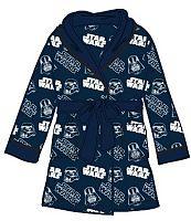 E plus M Chlapčenský župan Star Wars - modrý, 98 cm