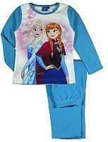 E plus M Dievčenské pyžamo Frozen - modré, 116 cm