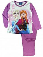 E plus M Dievčenské pyžamo Frozen - ružové, 110 cm