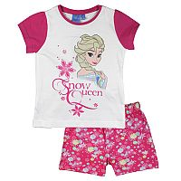 E plus M Dievčenské pyžamo Frozen - ružovo-biele, 104 cm
