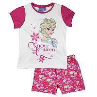 E plus M Dievčenské pyžamo Frozen - ružovo-biele, 92 cm