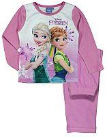 E plus M Dievčenské pyžamo Frozen - svetlo ružové, 92 cm