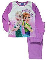 E plus M Dievčenské pyžamo Frozen - tmavo ružové, 98 cm