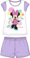 E plus M Dievčenské pyžamo Minnie - fialové, 128 cm