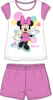 E plus M Dievčenské pyžamo Minnie - ružové, 122 cm