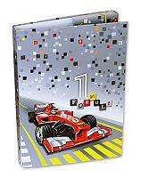 Emipo Chlapčenský box na zošity A4 Formule racing