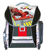 Emipo Chlapčenský školský batoh Formula racing