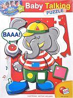 EP Line Baby genius baby so zvukom - slon