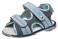 Fare Chlapčenské sandále - šedo-modré, EUR 30