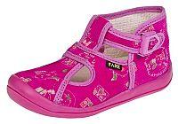 Fare Dievčenské členkové papučky s obrázkami - ružové, EUR 30