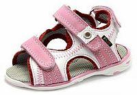 Fare Dievčenské sandále - ružovo-biele, EUR 23