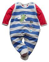 Gelati Chlapčenský dvojkomplet dupačiek a trička - farebný, 62 cm