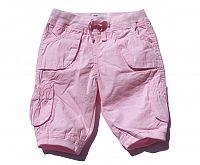 Gelati Dievčenské nohavice - ružové, 74 cm