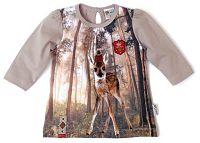 Gelati Dievčenské tričko so srnkami, 80 cm
