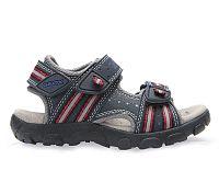 Geox Chlapčenské tmavo modré sandále JR Sandal Strada, EUR 31
