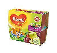 Hami 100% ovocie slivka a jablko 6x400g