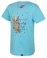 Hannah Chlapčenské tričko so sovou Tweety JR - modré, 116 cm