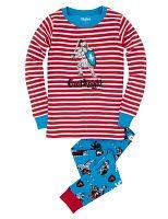Hatley Chlapčenské pyžamo s rytierom - farebné, 8 let