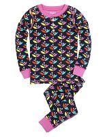 Hatley Dievčenské pyžamo s lupeňmi - farebné