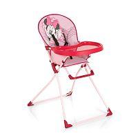 Hauck Skladacia jedálenská stolička Disney Mac Baby 2016 minnie pink II