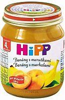 HiPP BIO Banány s marhuľami 6x125g
