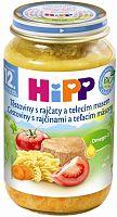 HiPP BIO Cestoviny s paradajkami a teľacím mäsom 6x220g